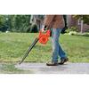 BLACK & DECKER 18-Volt Nickel Cadmium (NiCd) 90-CFM 120-MPH Cordless Electric Leaf Blower
