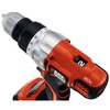 BLACK & DECKER 20-Volt 3/8-in Cordless Lithium Ion Drill/Driver with Case