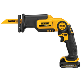 DEWALT 12-Volt Max Variable Speed Cordless Reciprocating Saw Battery Included