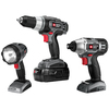 PORTER-CABLE 3-Tool 18-Volt Nickel Cadmium (Nicd) Cordless Combo Kit