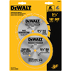 DEWALT 2-Piece Circular Saw Blade Set