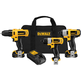 DEWALT 3-Tool 12-Volt Max Lithium Ion Cordless Combo Kit