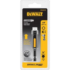 DEWALT 1/4-in x 2-15/16-in Metric and SAE Hex Nut Driver