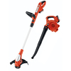 BLACK & DECKER 20-Volt 12-in Straight Cordless String Trimmer and Edger (Includes Blower)