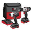 PORTER-CABLE 2-Tool 18-Volt Lithium Ion Lithium Ion (Li-Ion) Cordless Combo Kit