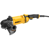 DEWALT 9-in 15-Amp Trigger Switch Corded Angle Grinder