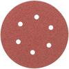 DEWALT 10-Pack 6-in W x 6-in L 80-Grit Commercial Disc Sandpaper