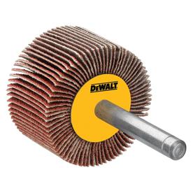 DEWALT 2-Pack 3-in W x 3-in L Multi-Grade Pack Commercial Flap Wheel Sandpaper