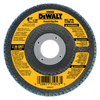 DEWALT 36-Grit 4-1/2-in W x 4-1/2-in L Flap Disc Sandpaper