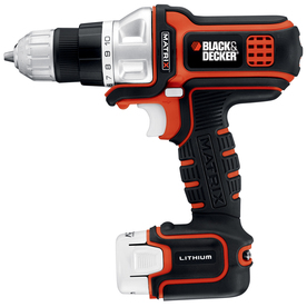BLACK & DECKER Matrix 12-Volt 3/8-in Cordless Lithium ion Drill