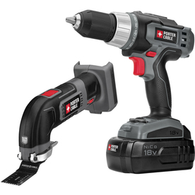 PORTER-CABLE 2-Tool Nickel Cadmium (NiCd) Cordless Combo Kit