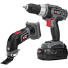 PORTER-CABLE 2-Tool 18-Volt Nickel Cadmium Cordless Combo Kit