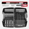 PORTER-CABLE 35-Piece Screwdriver Bit Set