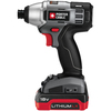 PORTER-CABLE 18-Volt Lithium 1/4-in Drive Cordless Impact Driver