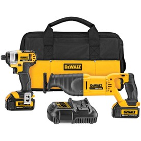 DEWALT 2-Tool 20-Volt Max Lithium Ion Cordless Combo Kit with Soft Case