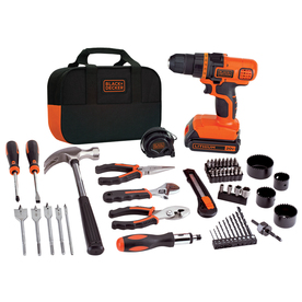 BLACK & DECKER 20-Volt Lithium Ion 3/8-in Cordless Drill with Battery and Soft Case