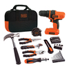 BLACK & DECKER 7.2-Volt Lithium Ion 3/8-in Cordless Drill with Battery and Soft Case