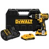 DEWALT 20-Volt Lithium Ion 1/2-in Cordless Brushless Drill with Battery and Hard Case