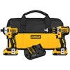 DEWALT 2-Tool 20-Volt Max XR Lithium ion Brushless Cordless Combo Kit