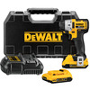 DEWALT 20-Volt Max 1/4-in Cordless Variable Speed Brushless Impact Driver with Hard Case