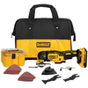 DEWALT 28-Piece Cordless 20-Volt Max Oscillating Tool Kit