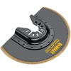 DEWALT Bi-Metal Titanium Oscillating Flush Cut Tool Blade