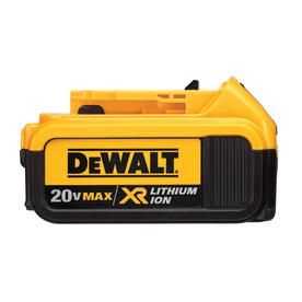 DEWALT 20-Volt Max-Volt 4.0-Amp Hours Lithium Power Tool Battery