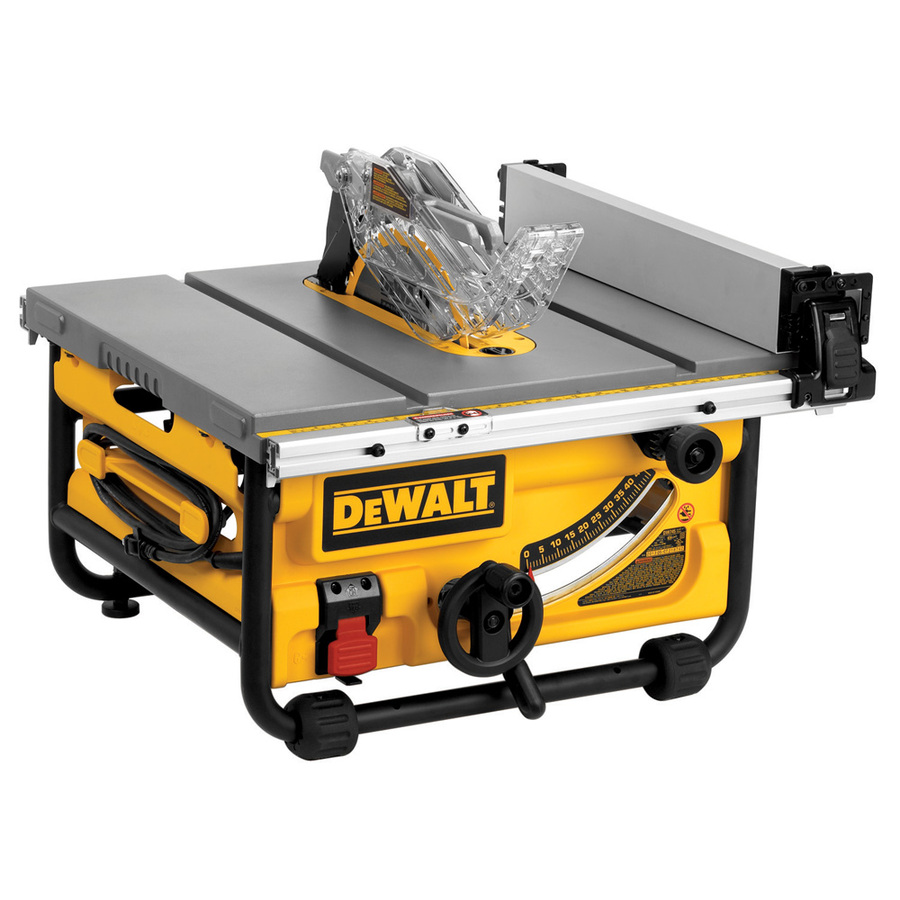 shop dewalt 15 amp 10 in table saw at. Black Bedroom Furniture Sets. Home Design Ideas