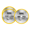 DEWALT Package Quantity-Piece Circular Saw Blade Set