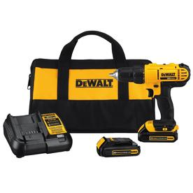 DEWALT 20-Volt Max Lithium Ion (Li-ion) 1/2-in Cordless Drill with Battery and Soft Case