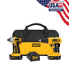 DEWALT 18-Volt Nickel Cadmium (Nicd) Cordless Combo Kit with Soft Case