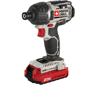 PORTER-CABLE 20-Volt Max 1/4-in Cordless Variable Speed Impact Driver