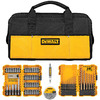 lowes deals on DEWALT 80-Piece Impact Screwdriver Bit Set DWLOBAG4