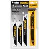 DEWALT 8-Pack Bi-Metal Reciprocating Saw Blade Set