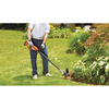 BLACK & DECKER 20-Volt Max 12-in Straight Cordless String Trimmer and Edger