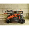 BLACK & DECKER 40-Volt Max-Volt Lithium Ion (Li-ion) 16-in Deck Width Cordless Electric Push Lawn Mower 2