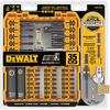 DEWALT 35-Piece FlexTorq Impact Driver Bit Set