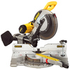 DEWALT 12-In 15-Amp Dual Bevel Slide Compound Miter Saw