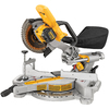 DEWALT 7-1/4-in Single Bevel Sliding Compound Miter Saw