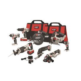 Porter-Cable 20V MAX 8 Li-Ion 8-Tool Combo Kit PCCK619L8/BRAND NEW-NOT ...