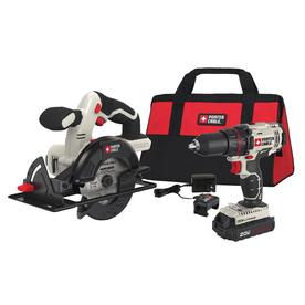 PORTER-CABLE 2-Tool 20-Volt Max Lithium Ion (Li-ion) Cordless Combo