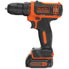 BLACK & DECKER 12-Volt Max Lithium Ion (Li-ion) 3/8-in Cordless Drill with Battery