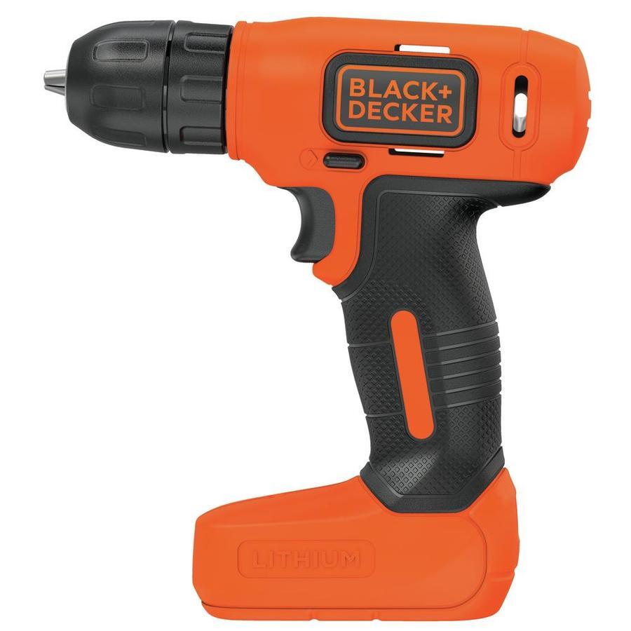 Black /& Decker BLACK+DECKER 8V Drill /& Home Tool Kit BDCD8PK 54 Piece