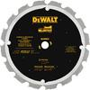 DEWALT 12-in 16-Tooth Standard Diamond-Tipped Steel Circular Saw Blade