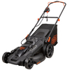 BLACK & DECKER 40-Volt Lithium Ion (Li-ion) 20-in Deck Width Cordless Electric Push Lawn Mower with Mulching Capability