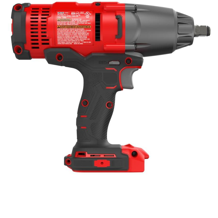 Tool Only CRAFTSMAN CMCF900B V20 Cordless Impact Wrench