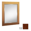 KraftMaid 36-in H x 21-in W Autumn Blush Rectangular Bathroom Mirror