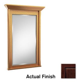 KraftMaid 36-in H x 36-in W Tribecca Kaffe Rectangular Bathroom Mirror