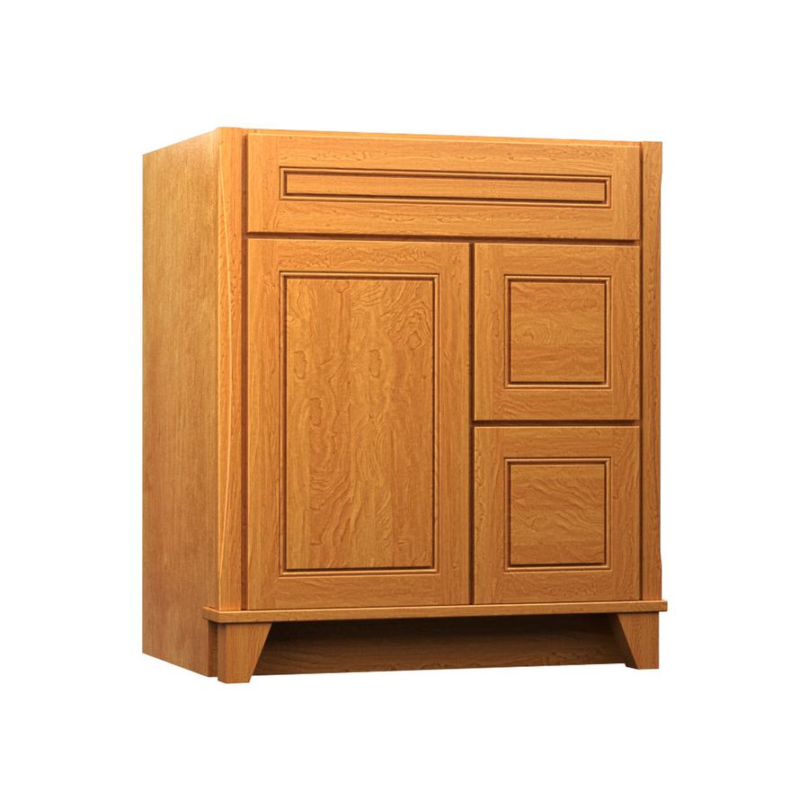 Kraftmaid bathroom vanity shop kraftmaid tribecca for Bathroom cabinets kraftmaid