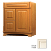 KraftMaid Chambord Montclair Canvas with Cocoa Glaze Traditional Bathroom Vanity (Common: 36-in x 21-in; Actual: 36-in x 21-in)
